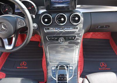 AMG car mats