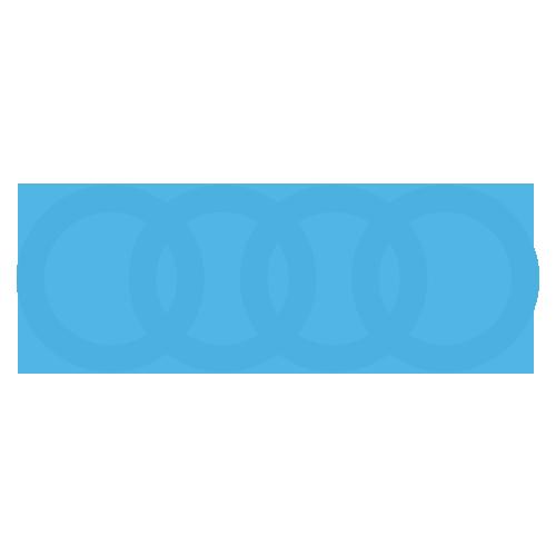 Audi Rings Blue