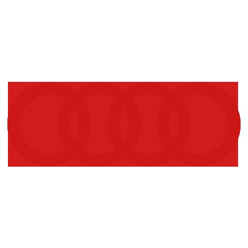 Audi Rings Red