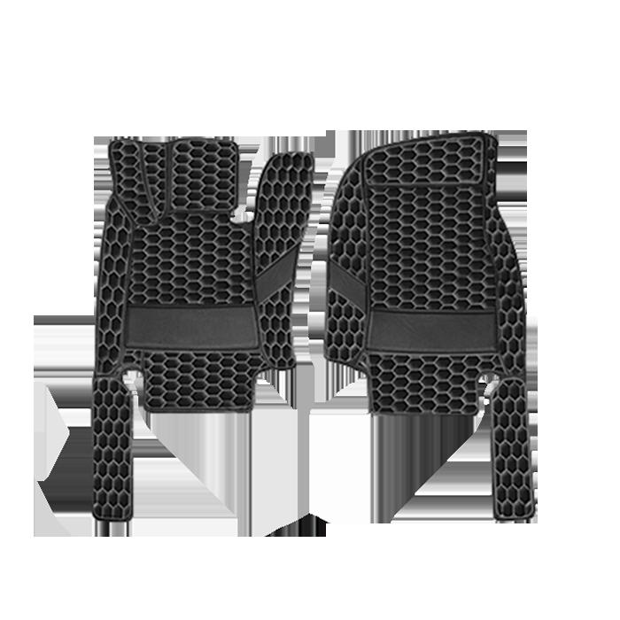 Black & Gray (Honeycomb)