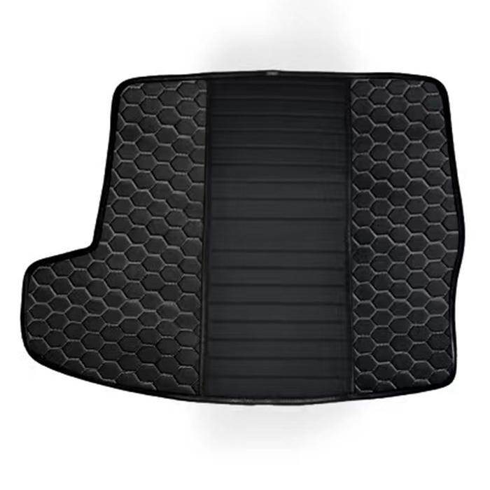 Black & Silver (honeycomb)
